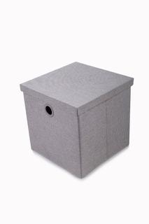 Caja Organizadora Klau Grande Gris 34x34x34 Cms Casamia