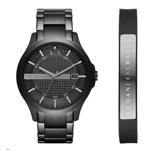 Relógio Masculino Armani Exchange Ax7101 45mm Aço Preto