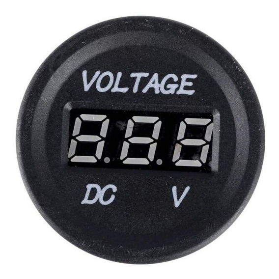 Voltimentro Soquete De 12volt, E 24volt, Display Digital