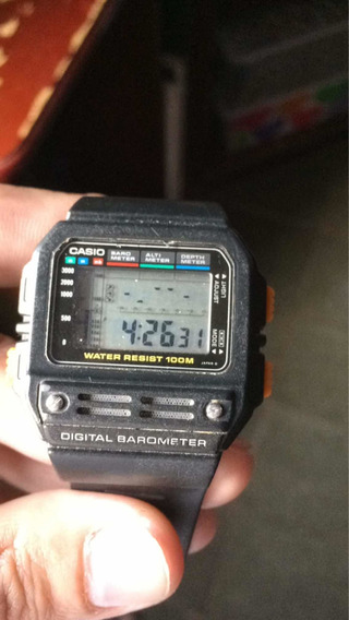 Casio Bm 100wj,relógio Raro Anos 90 Lindo E Raro Relógio