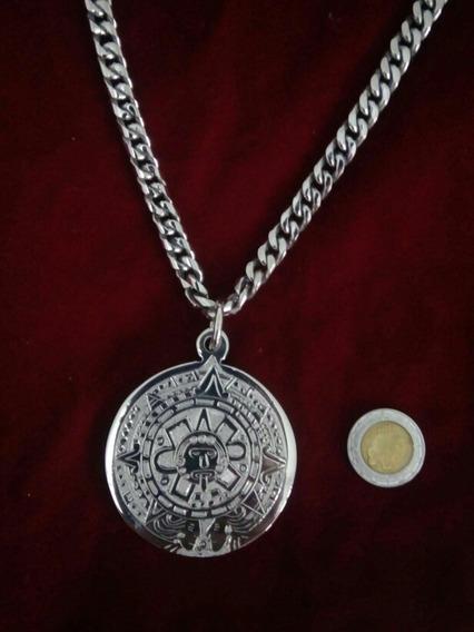 Cadena + Medalla Sol Azteza.