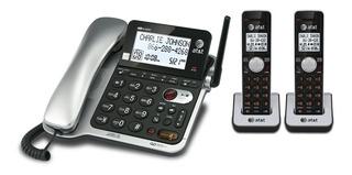 At&t Cl84202 Telefono Fijo + 2 Auriculares
