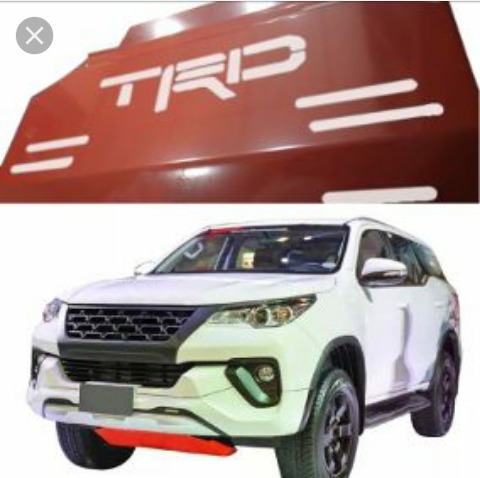 Plancha Protectora Trd Para Toyota Fortuner Dubai 2017 A 19