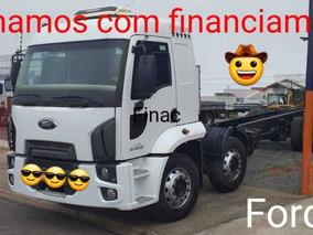 Ford Cargo 2428 Leito Alto Bitruck