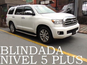 Toyota Sequoia 2015 Blindada Nivel 5 Plus Blindaje Blindados