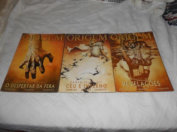 Hq Wolverine Origem. Serie Completa.