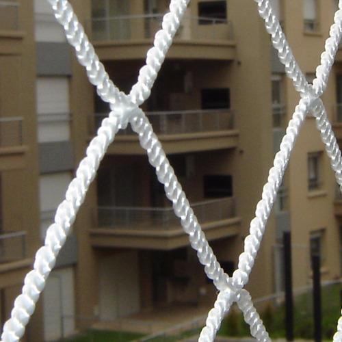 Imagen 1 de 6 de Seguridad En Un Balcón Con Redes - Red En Balcon Sin Techo