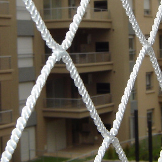 Seguridad En Un Balcón Con Redes - Red En Balcon Sin Techo