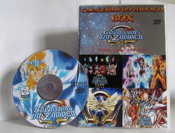 Cavaleiros Do Zodíaco Box Todas As Temporadas + Filmes