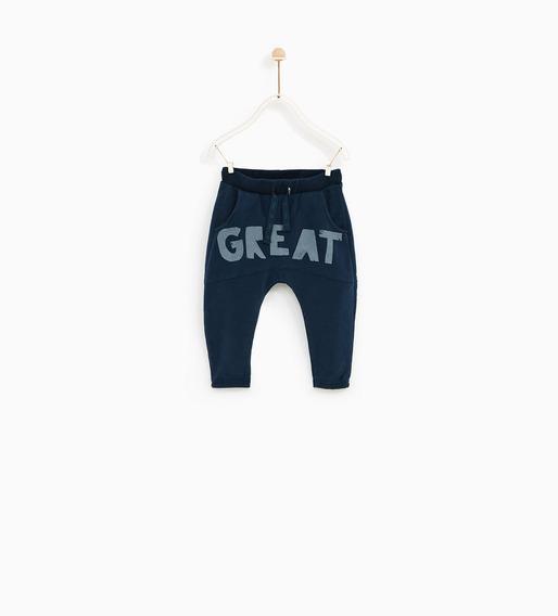 Ropa Bebés Navidad Pantalón Jogging Zara Oferta