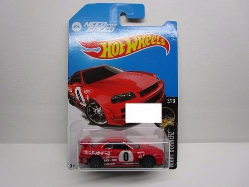 Nissan Skyline Need For Speed 7cm Largo Hot Wheels 1/64