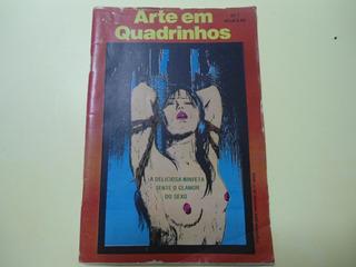 Revista A Arte Em Quadrinhos 1 Raridade