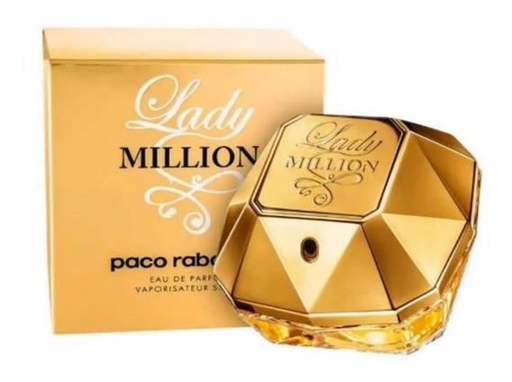 Perfume Lady Million 50ml Eau De Parfum +amostra