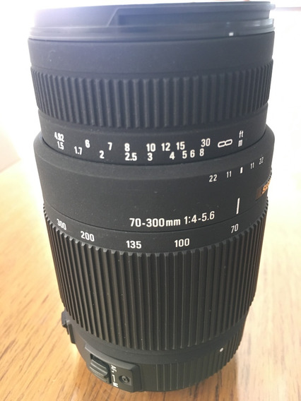 Lente Sigma 70-300 F4-5.6 P/ Sony Alpha A-mount