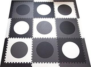 Tapete De Espuma Infantil Softtiles - Circulos Geometricos M