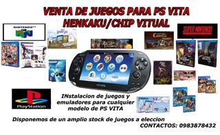 Juegos De Ps Vita - Henkaku Desde Tan Solo 1 Dolar