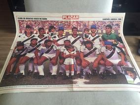 Poster Revista Placar - Vasco - Bi Campeão Carioca 1988