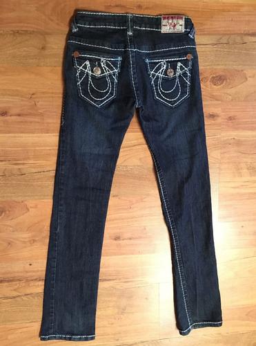 Padrisimo Pantalon True Religion Joey Super T Original Mercado Libre