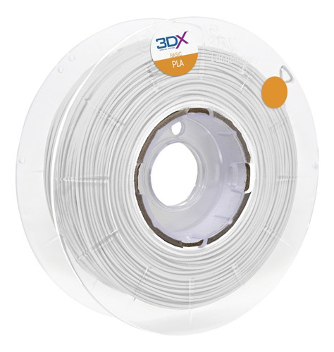 Filamento Pla Branco 1,75 Mm | 1kg | Basic Full