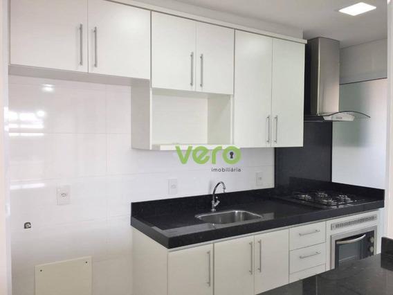Apartamento Com 2 Dormitórios Para Alugar, 60 M² Por R$ 1.700/mês - Vila Santa Catarina - Americana/sp - Ap0066
