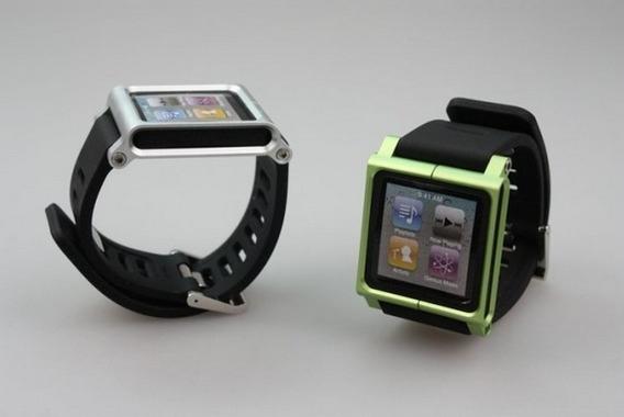 Extensible iPod Nano 6 Generacion Correa Aluminio 8 Colores