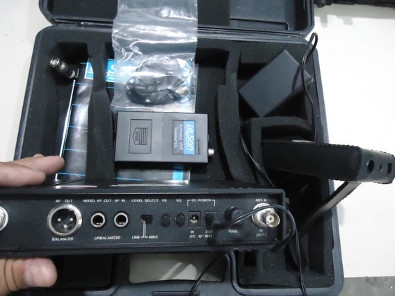 Receptor Leson Ls 201 Microfone Sem Fio De Cabeça
