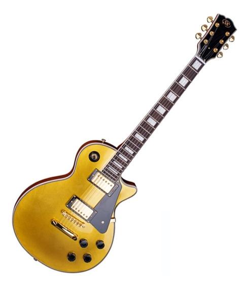 Guitarra Sx Les Paul Eh3 Gd Gold Dourada Barata