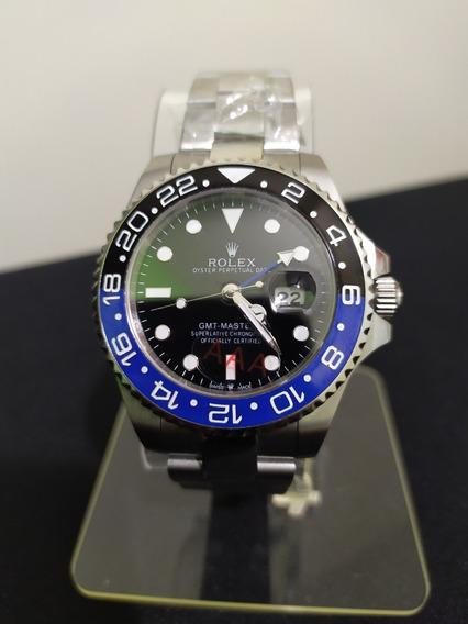 Relógio Rolex Gmt Master Ii Batman, Máquina Etta, 2 Anos De Garantia