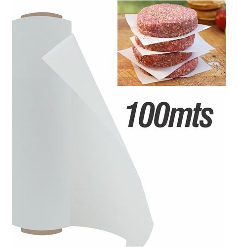 Papel Parafinado Para Cocina Alimentos Comida 100mt