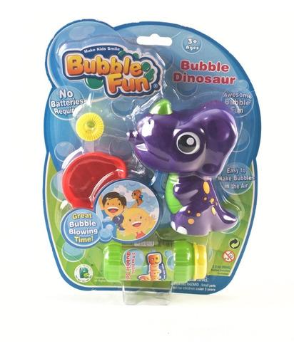 Burbujero Bubble Fun Friction Power Dinosaurios Edu Full