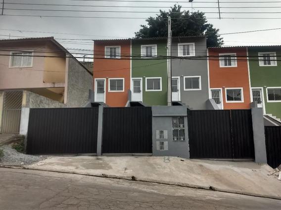 Sobrado Em Jardim Alegria, Francisco Morato/sp De 57m² 2 Quartos À Venda Por R$ 170.000,00 - So379620