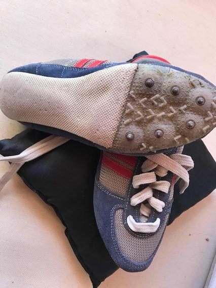 Zapatillas Atletismo Tapones Cómicos Carrera 24 Cm Plantilla