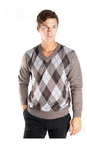 Imagen 1 de 1 de Sweater Hombre Rombo Olegario Oferta Varios Colores