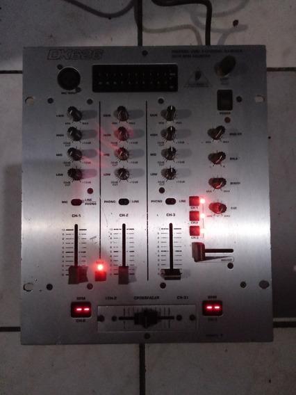 Mixer Behringer Dx 626 Funcionando Td
