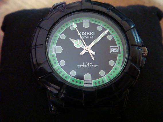 Bonito Reloj Kiseki By Citizen Colección Scuba Diver Hulk.