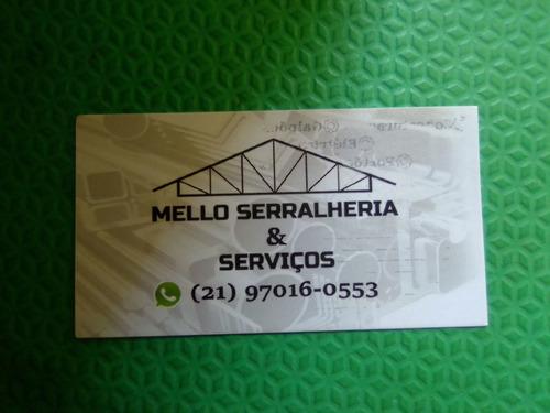 Imagem 1 de 5 de Serviços De Serralheria