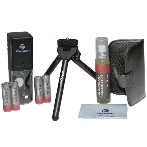 Kit 5 Acessórios Para Câmeras Fotograficas Targus Tgkra800