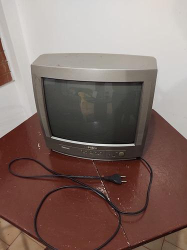 Televisão 14 Tubo Philco Funciona Tudo. Sem Controle.