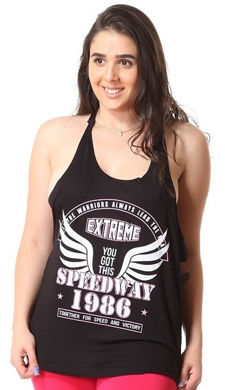 Camiseta Regata Academia Feminina Fitness Blusa 8282