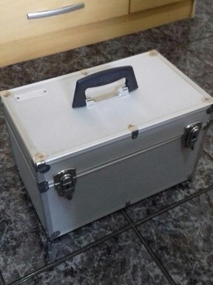 Maleta Metálica Para Cosméticos Proart Professional