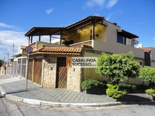 Sobrado Com 3 Dormitórios À Venda, 236 M² Por R$ 1.190.000,00 - Vila Esperança - São Paulo/sp - So0998