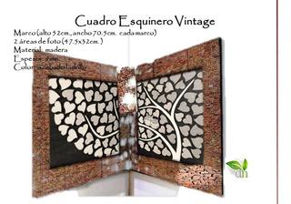 Cuadro Moderno Decorativo Esquinero Vintage