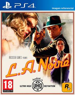 L. A. Noire / Juego Físico / Ps4