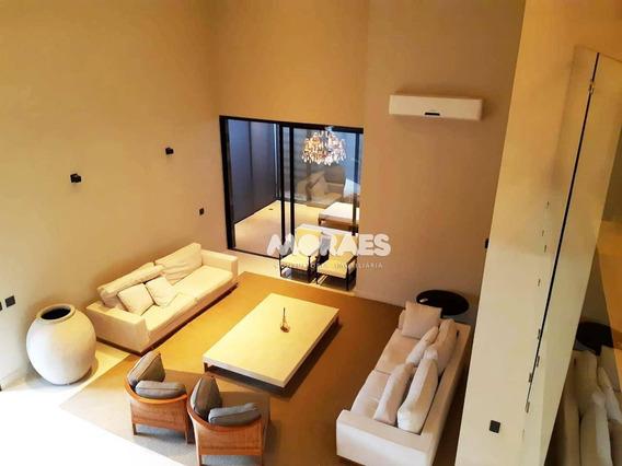 Casa Altíssimo Padrão Mobiliada Com 4 Suítes Para Alugar, 700 M² - Residencial Villaggio Iii - Bauru/sp - Ca1446