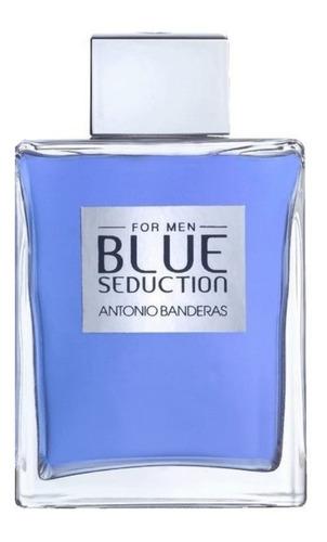 Imagen 1 de 2 de Antonio Banderas Blue Seduction EDT 200ml para  hombre