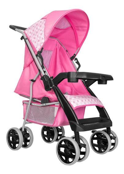 Carrinho De Bebê Passeio Thor Plus Rosa - Tutti Baby