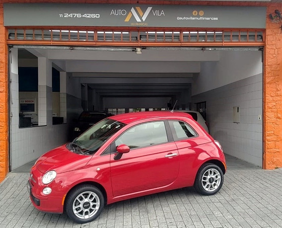 Fiat 500 2013 1.4 Cult Flex Dualogic 3p