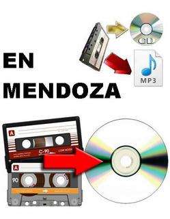 Pasaje Conversion De Audio Cassette A Cd Mp3 Pendrive En Mza