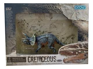 Cretaceous Dinosaurios 18 Cm Triceratops