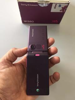 Celular Sony W380 100% Original Em Estado De Zero Sem Arranh